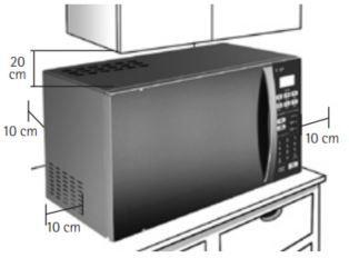 Microondas Consul Facilite 20L CMP25 - Instalação