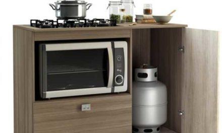 Balcão para Cooktop e microondas – conheça os modelos