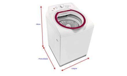 Medidas de Máquina de Lavar Roupas – Saiba as dimensões das lavadoras