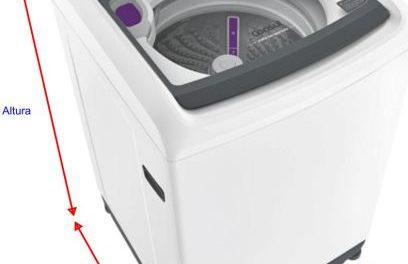Medidas de Máquina de lavar Roupas Consul – Modelos