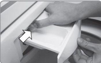 como limpar a lavadora brastemp BWB08AB - recipiente sabão 1