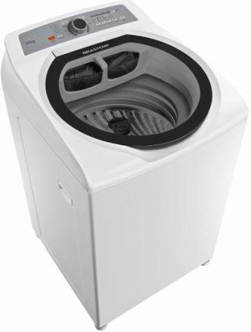 Máquina de Lavar Brastemp 12kg Água Quente com Superfiltro e Enxágue Antialérgico - BWQ12AB