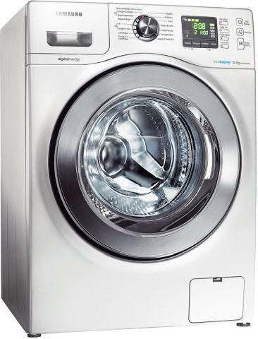 Lavadora de roupas abertura frontal - Samsung Seine 10,1 Kg - WF106U4