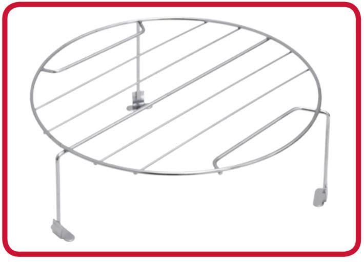 Microondas Tramontina 25L de Embutir com Grill Glass 60- Acessório
