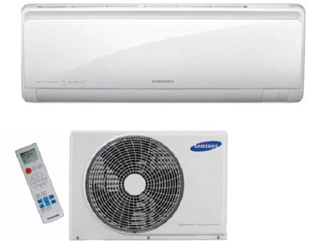 Ar Condicionado Samsung AR09HVSPBSNN Split High Wall 9000 BTUs Frio