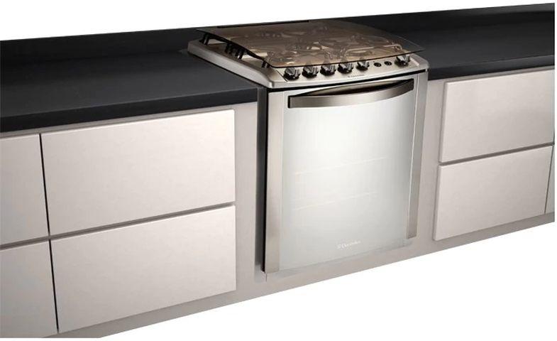 Manual de instruções do fogão a gás Electrolux 4 bocas de embutir 56TXE