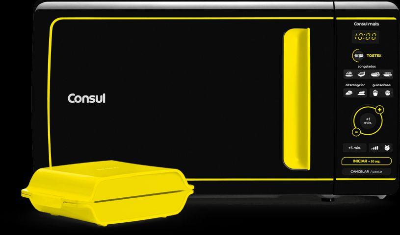 Microondas Consul 20 litros Mais com Função Tostex CME20AY
