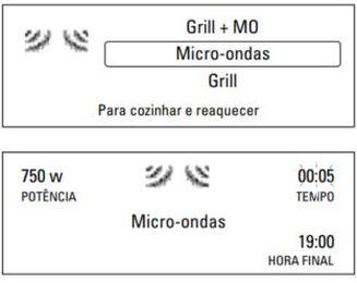 Como ajustar a potencia do microondas Brastemp GMT40 - 2