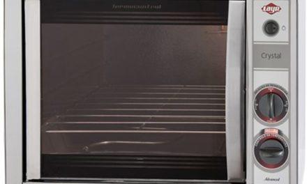 Medidas do Forno Elétrico Layr 46L Crystal Inox Advanced