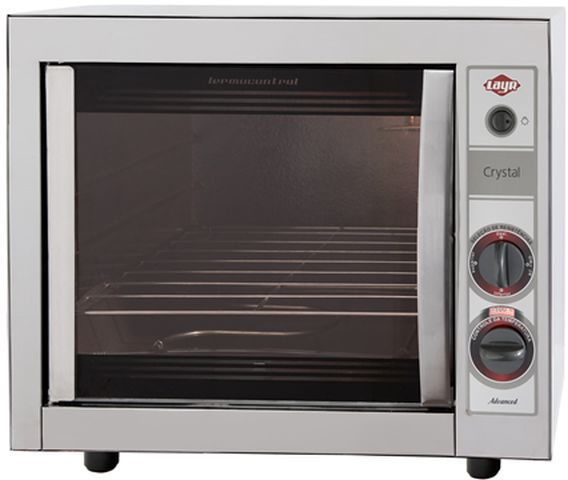 Medidas do forno elétrico Layr Crystal Inox Advanced