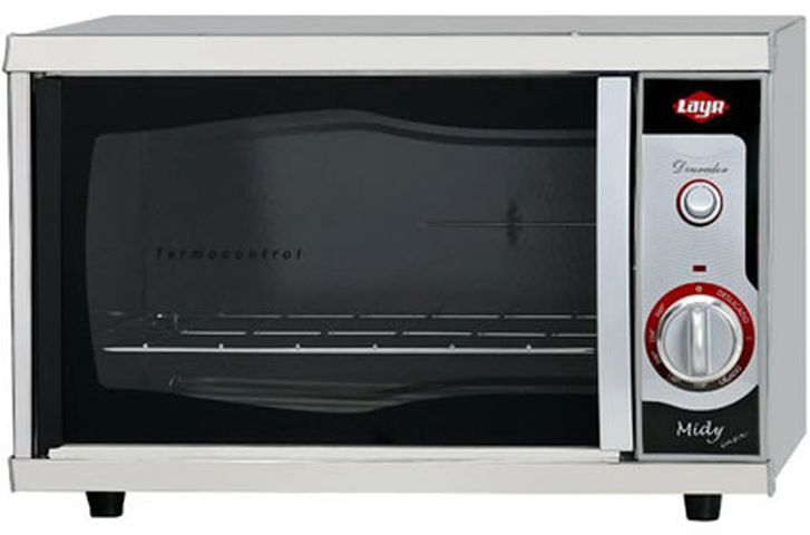 Medidas do forno elétrico Layr Midy Inox