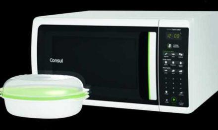 Como ajustar a potência do microondas Consul 38 litros CMK38