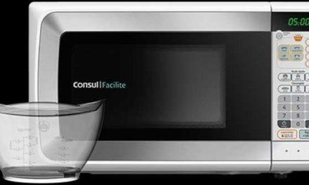 Como ajustar a potência do microondas Consul 20 litros Facilite CMP25