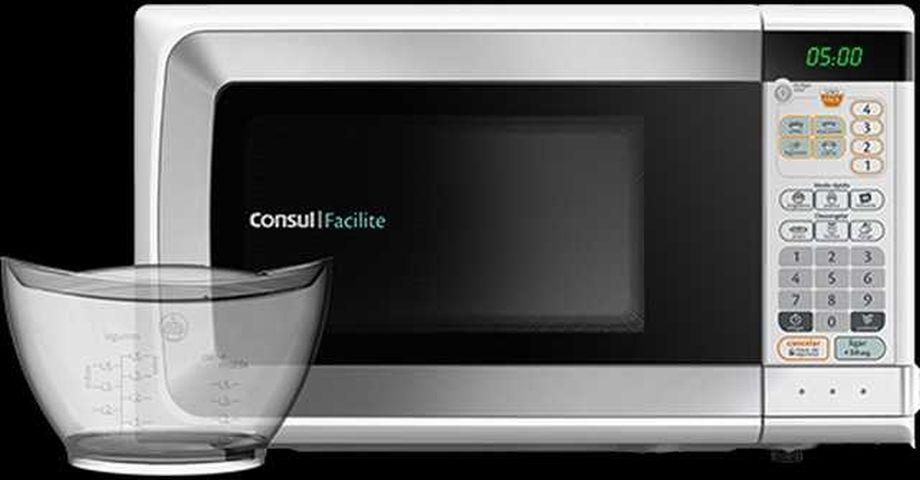 Como ajustar a potência do microondas Consul 20 litros Facilite pote Uso Fácil CMP25