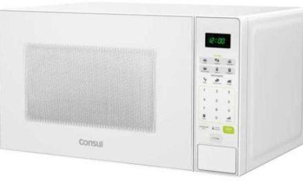 Medidas do Microondas Consul 30 litros Branco – CMW30