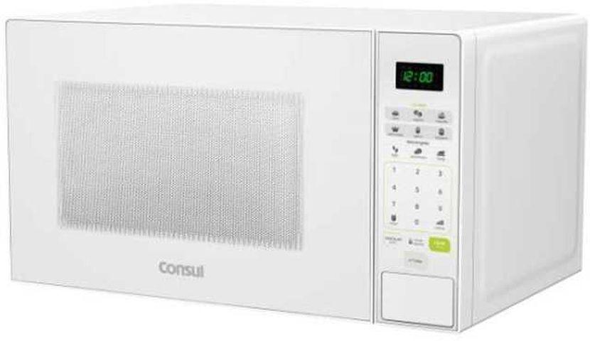 Medidas do Microondas Consul 30 litros Branco - CMW30