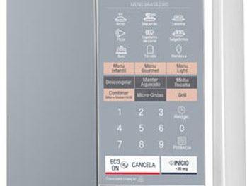 Como ajustar a potência do microondas LG 30 litros com Grill MH7044