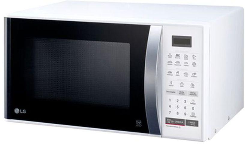 Medidas do Microondas LG 23 litros Branco - MS2355R