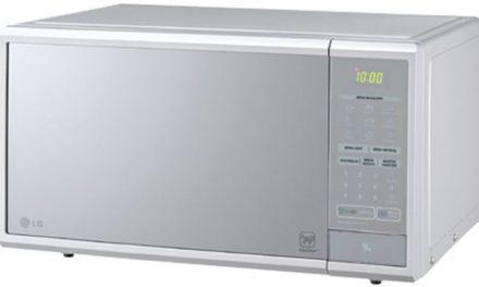 Como ajustar o relógio do microondas LG 30 litros Prata – MS3059L