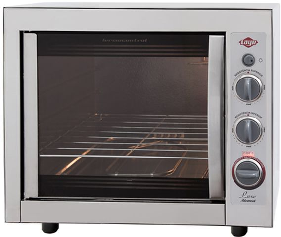 Medidas do forno elétrico Layr Luxo Inox Advanced 2.4.4