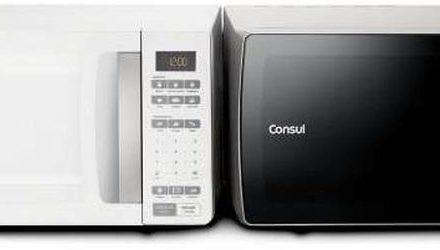 Como colocar hora no microondas Consul 32 litros CMS45