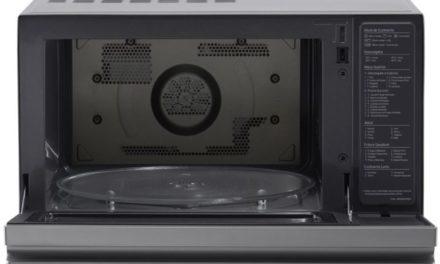 Como usar grill do microondas LG 39 litros Convecção Inverter MJ3967