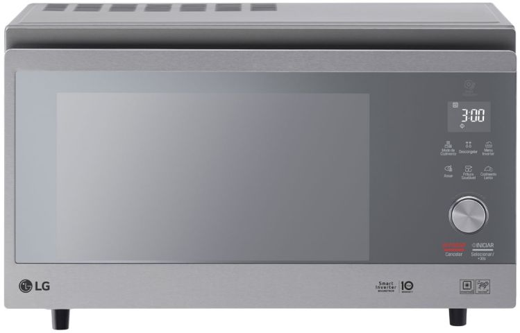 Microondas LG Smart Inverter 39 litros MJ3967
