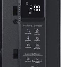 Como ajustar a potência do microondas LG Smart Inverter 42 litros MH8297