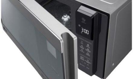 Manual de instruções do microondas inverter LG 42L com grill – MH8297