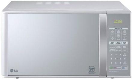 Medidas do Microondas LG 30 litros Prata com Grill – MH7053R