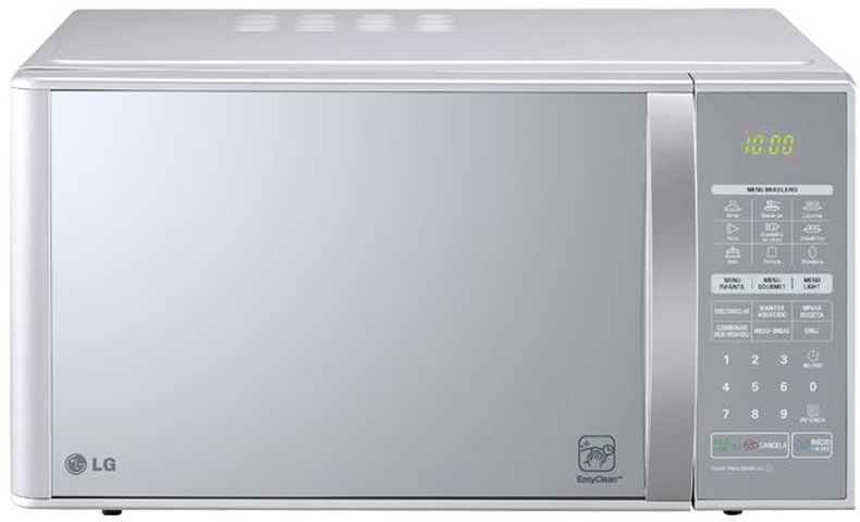 Manual de instruções de microondas LG 30 litros com grill MH7053