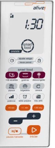 Como descongelar alimentos com microondas Brastemp - BMF45