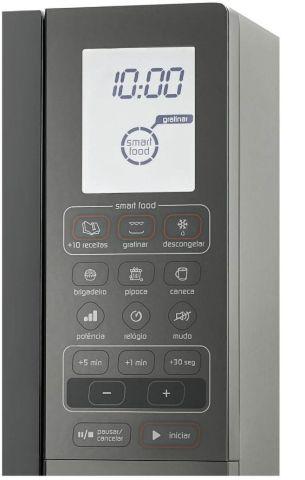 Como descongelar alimentos com microondas Brastemp - BMG45