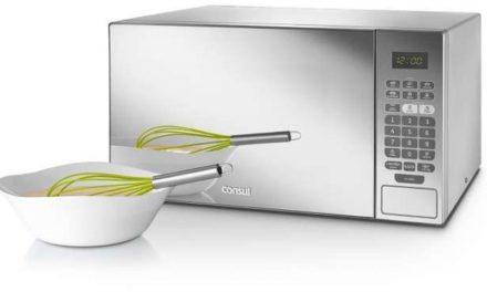 Como ajustar a potência do microondas Consul 30 litros com grill CMA30
