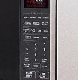 Como ajustar a potência do microondas LG Studio de Embutir 54 litros LSRM2010