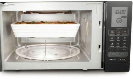 Como usar o grill do microondas Brastemp 30 litros Grill Preto – BMU45