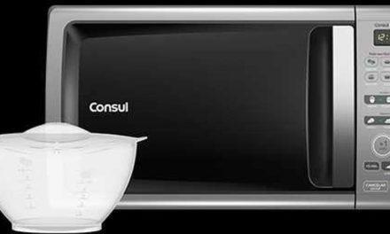 Medidas do Microondas Consul 20 litros Facilite Prata – CMD20