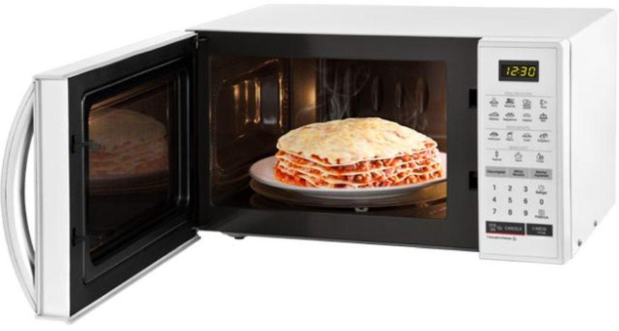 Como descongelar alimentos com microondas LG