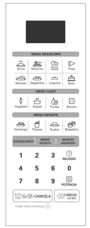 Como ajustar a potência do microondas LG 30 litros MS3052