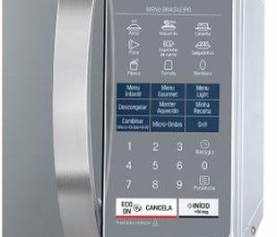 Como ajustar a potência do microondas LG 30 litros com Grill MH7057