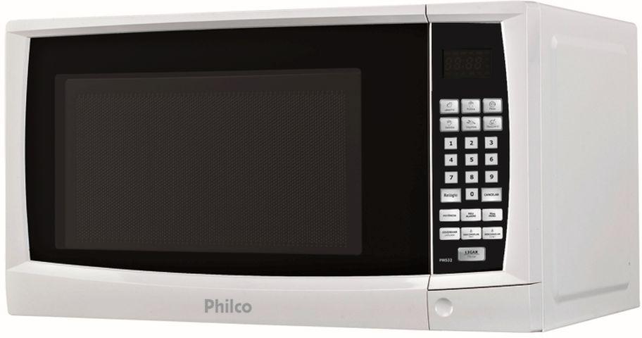 Medidas do Microondas Philco 30 litros Branco - PMs32