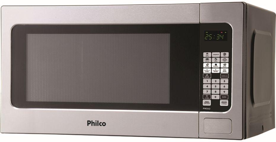 Medidas do Microondas Philco 62 litros Prata - PMS62