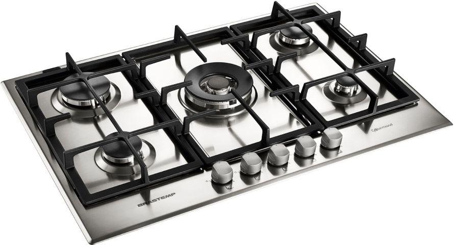 Medidas do Cooktop a Gás Brastemp 5 bocas - BDK75