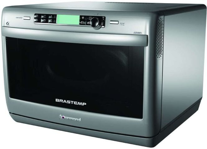 Medidas do Forno com Microondas Brastemp Gourmand - BMD35