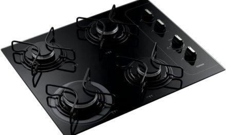 Medidas do Cooktop 4 bocas Consul com controle fácil e acendimento automático – CD060AE