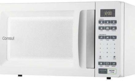Medidas do Microondas Consul 32 litros Branco – CMS45