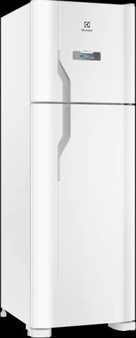 Medidas da Geladeira Electrolux 371 litros com Drink Express Branco - DFN41