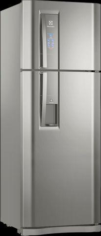 Manual de instruções da geladeira Electrolux 456 litros - DW54X