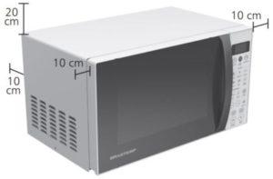 Instalação do microondas Brastemp - BMW20