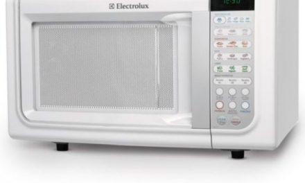 Como ajustar a potência do Microondas Electrolux 23L – MEF33